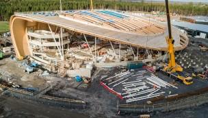 Center Parcs eröffnet größten Wasserpark Irlands 2019 in Longford