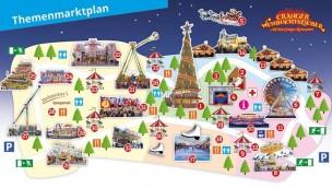 Cranger Weihnachtszauber 2018 Beschickung Attraktionen Fahrgeschäfte
