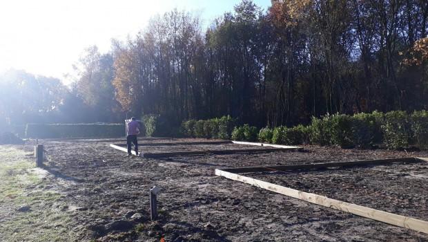 Drouwenerzand 2019 Lodges Baustelle