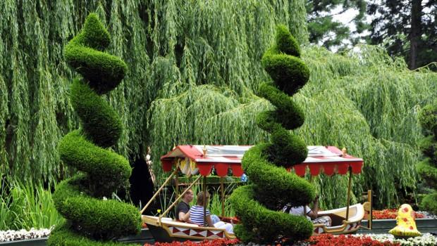 Elfenfahrt Europa-Park Gartenanlage