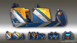 Disney präsentiert neuartiges Fahrsystem für neue Guardians of the Galaxy-Achterbahn in Epcot