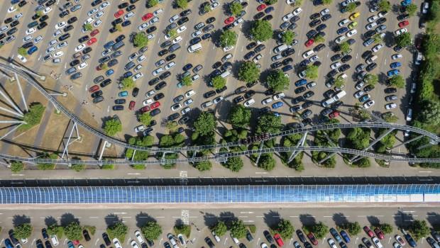 Europa-Park Parkplatz Silver Star