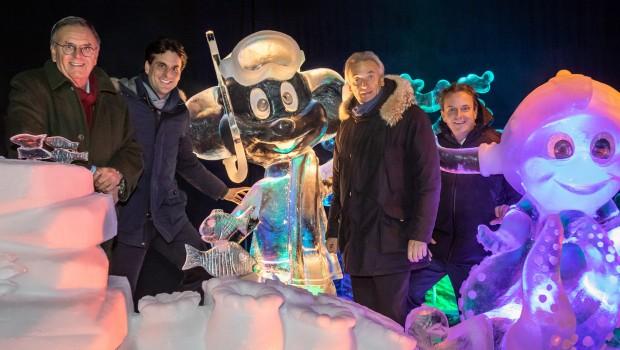 Rulantica aus Eis im Europa-Park 2018