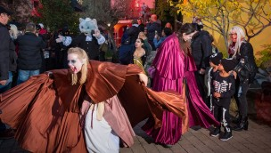 Halloween-Parade im Familypark am Neusiedlersee