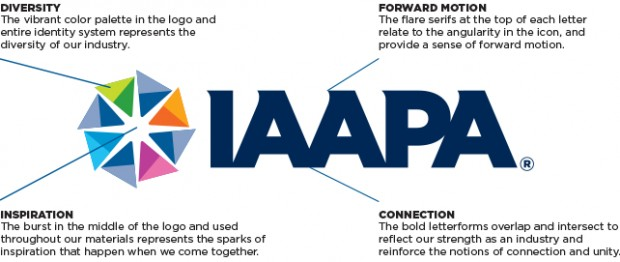 IAAPA neues Logo