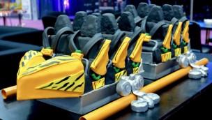 """Busch Gardens Tampa Bay präsentiert neue Katapult-Achterbahn """"Tigris"""" in Kuchen-Form"""