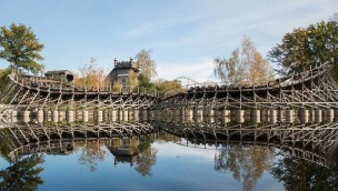 "Holzachterbahn ""Joris en de Draak"" in Efteling nach ungeplanter Schließung wieder geöffnet"
