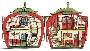 Riesige Erdbeere als Ferienhaus: Karls enthüllt erste Details zu Familien-Resort in Elstal
