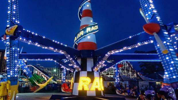 Luna Park Coney Island Air Race