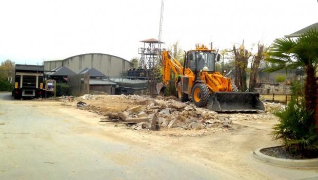 Movieland Park Baustelle für 2019
