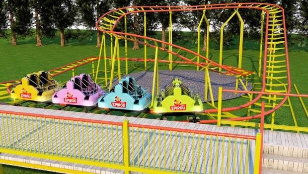 Parc Spirou neue Achterbahn 2019