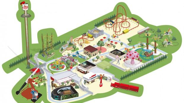 Parc Spirou Parkplan 2019