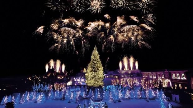 Phantasialand Wintertraum Feuerwerk