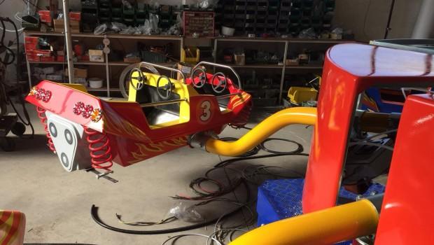Quassy Amusement Park Zamperla Bouncing im Werk