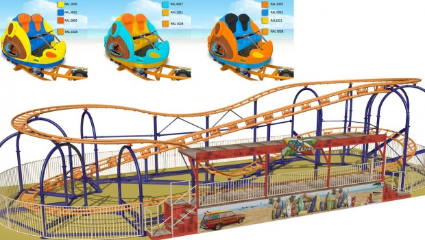 SBF-Visa Compact Spinning Coaster 5.0 Design