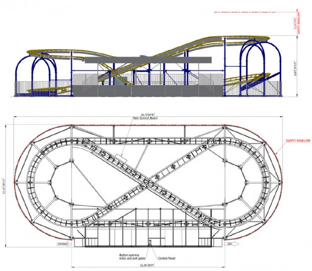 SBF-Visa Compact Spinning Coaster 5.0 Layout