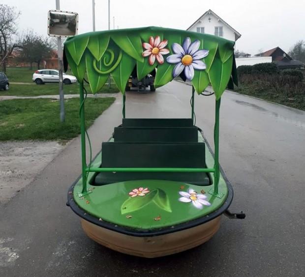Schwaben-Park 2019 Kanalfahrt Tabaluga Abenteuer Boot