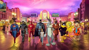 Warner Bros. World Abu Dhabi Superhelden