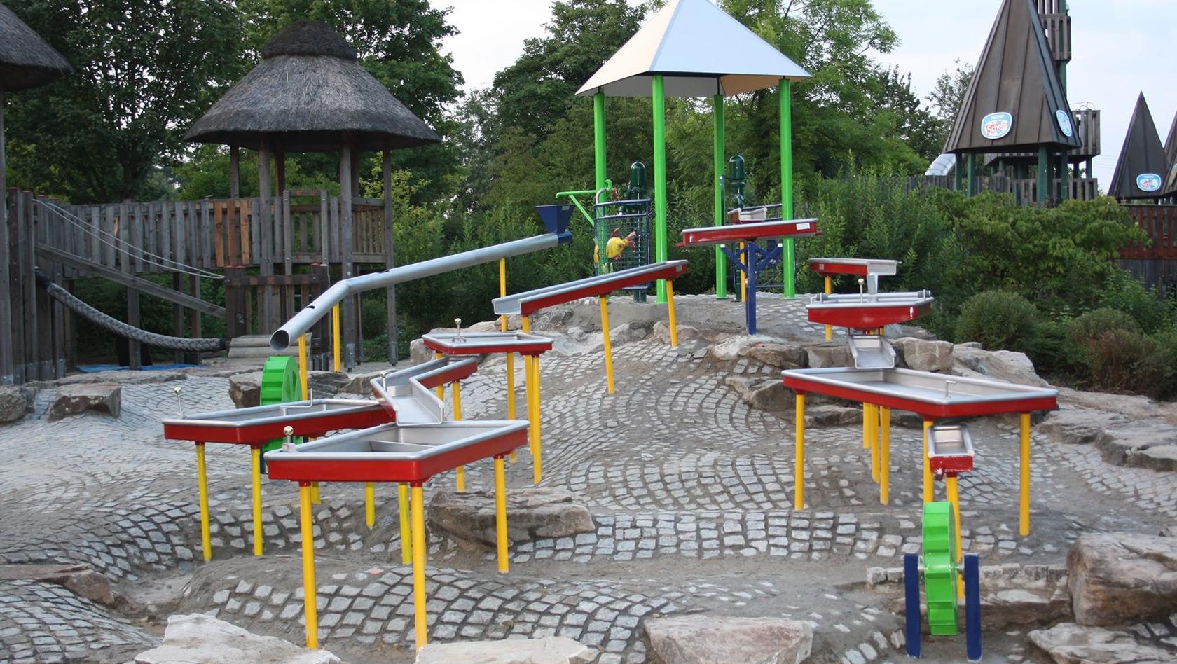Wasserspielplatz Karlsruhe