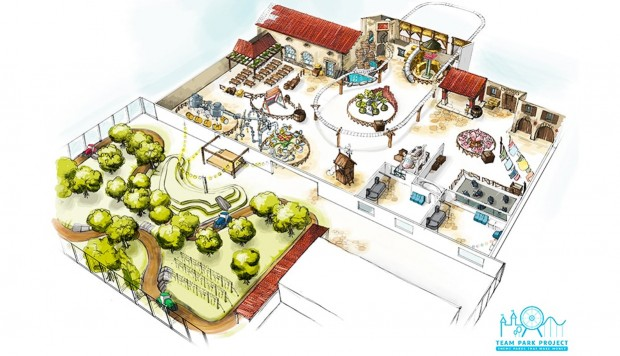 Zamperla Freizeitpark Italien Eataly World Konzept