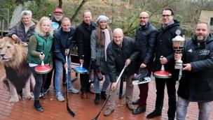 Winterzauber im Zoo Osnabrück 2018 mit Eisstockschießen, Tubingbahn und mehr