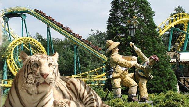 Zoo Safaripark Stukenbrock Achterbahn