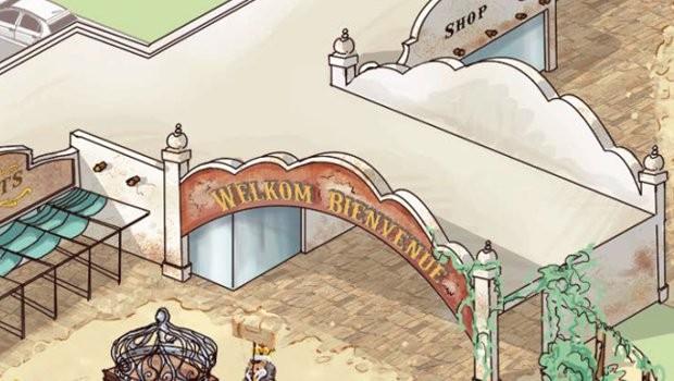 Bellewaerde neuer Eingang 2019
