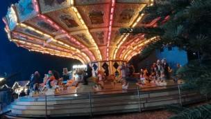 Alt Wiener Pferdekarussell Cranger Weihnachtszauber 2018