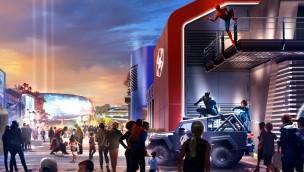 Disneyland Paris gibt mit neuen Artworks Vorschau auf neues Marvel-Land
