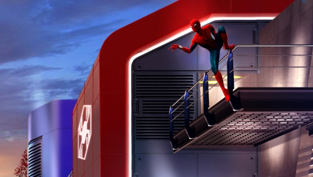 Disneyland Paris Marvel Zone Spiderman