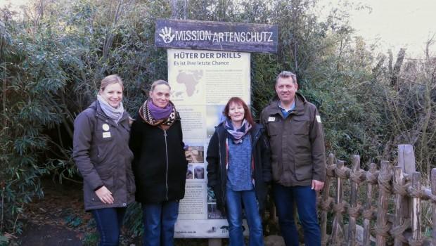 Drills Artenschutz Erlebnis Zoo Hannover