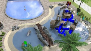 Duinrell erweitert Tikibad 2019 um neue Rutschen, Pool und Wasserspielplatz im Außenbereich