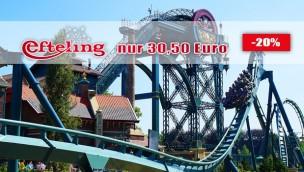 Efteling-Tickets 2019 zum Sparpreis im Angebot ab 30,50 € (statt bis 42 €)