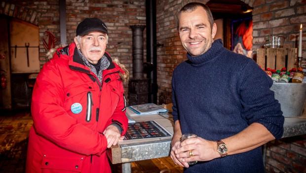 Eiswelt Rövershagen 2019 - Robert Dahl mit Othmar Schiffer-Belz