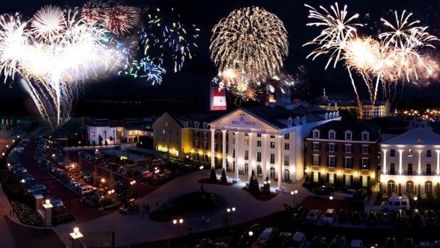Europa-Park Feuerwerk Silvester