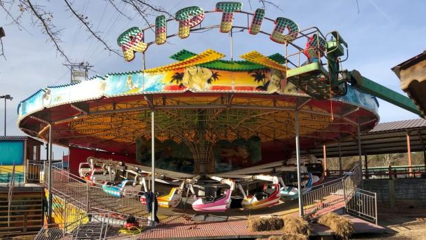 Fun Spot Atlanta Riptide Baustelle