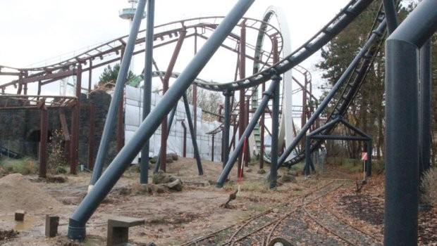 Hansa-Park Nessie Renovierung 2019