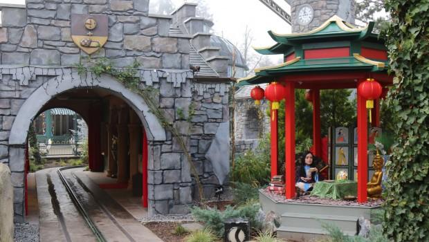 Jim Knopf Bahn Europa-Park Chinesischer Pavillon