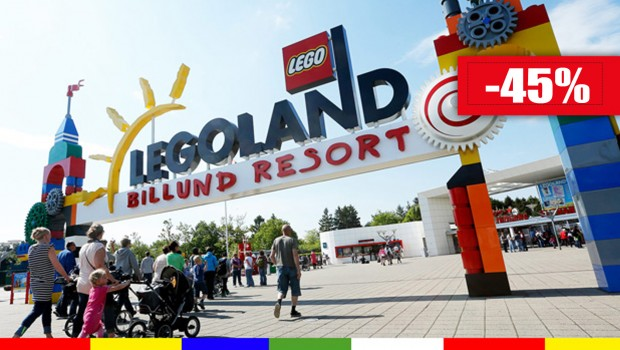 LEGOLAND Billund Familien-Tickets 2019