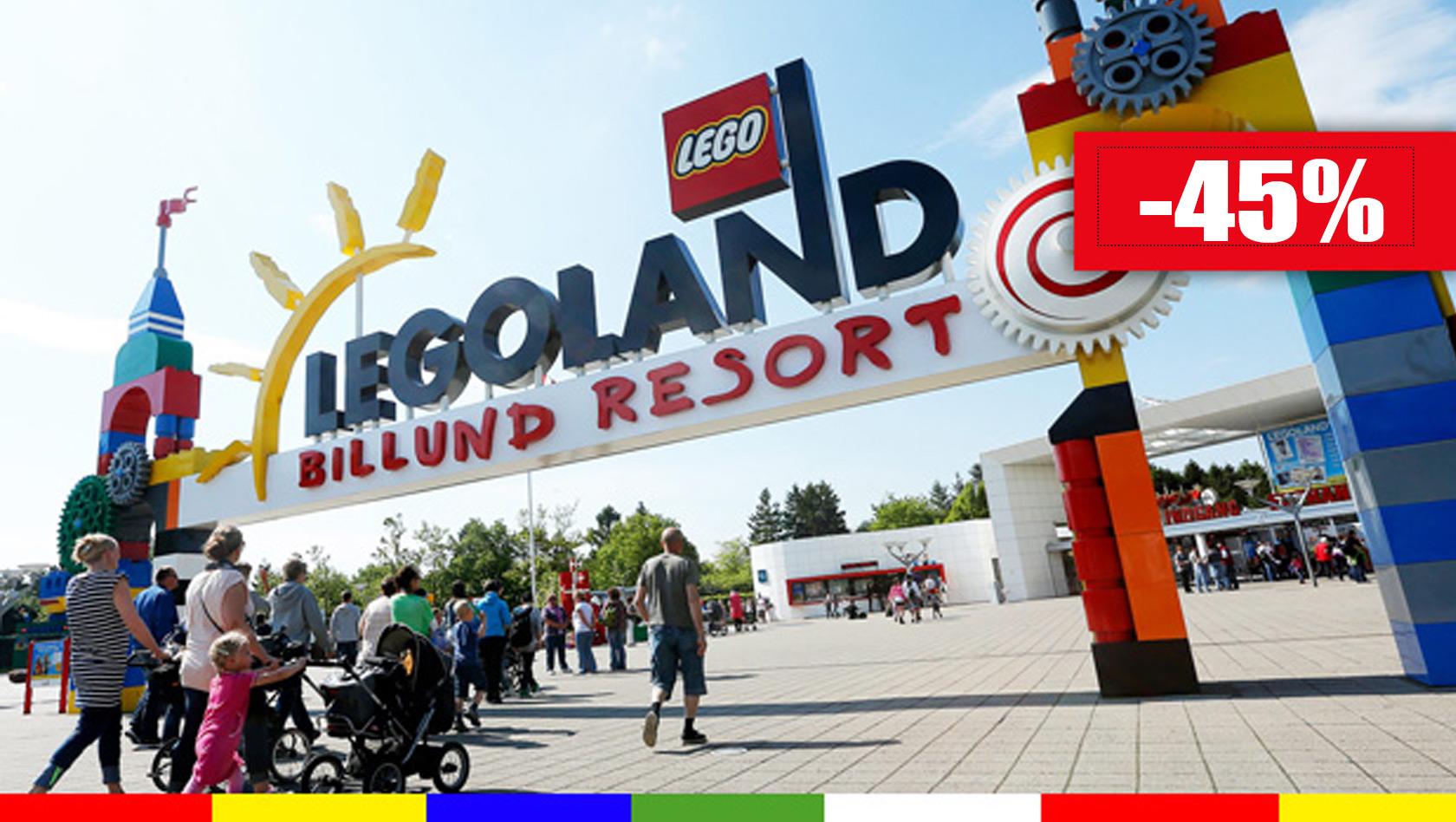 LEGOLAND Billund Schnäppchen 2019 - Familien-Tickets mit ...