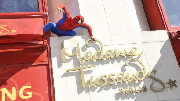 Madame Tussauds Berlin Eingang Spiderman