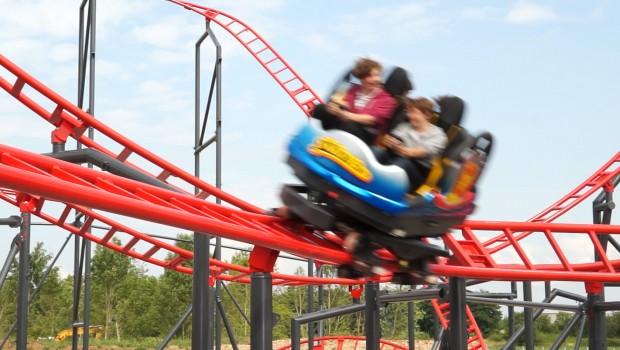Maurer Spinning Coaster SC2000 Sky Spin Skyline Park