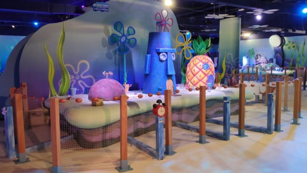 Nickelodeon Freizeitpark Madrid Xanadu Spongebob