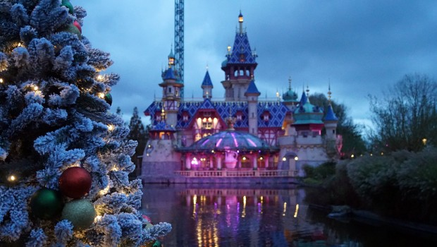 Plopsaland De Panne Winter Schloss