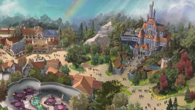 Tokyo Disneyland Die Schöne und das Biest 2020