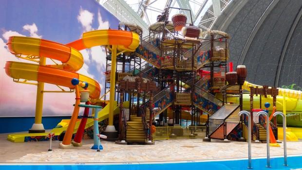 Tropical Islands Kinder-Wasser-Spielplatz