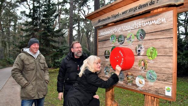 Zoo Rostock Vogelstimmen Spielstation