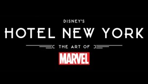 Disney's Hotel New York The Art of Marvel Logo
