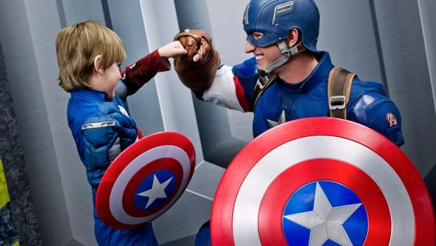 Disneyland Paris Captain America Kind