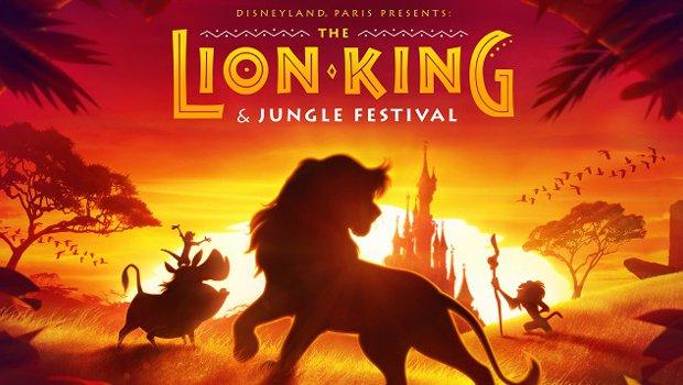 Disneyland Paris König der Löwen und Dschungelbuch Festival 2019